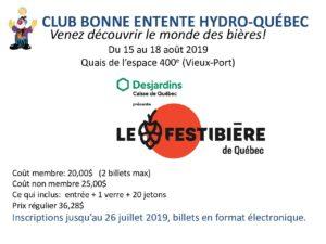Festibière Québec 2018